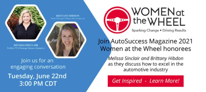 WEBINAR- Women at the Wheel