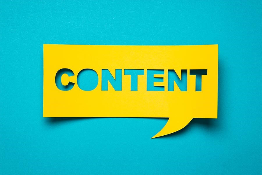 Give your buyers great web content