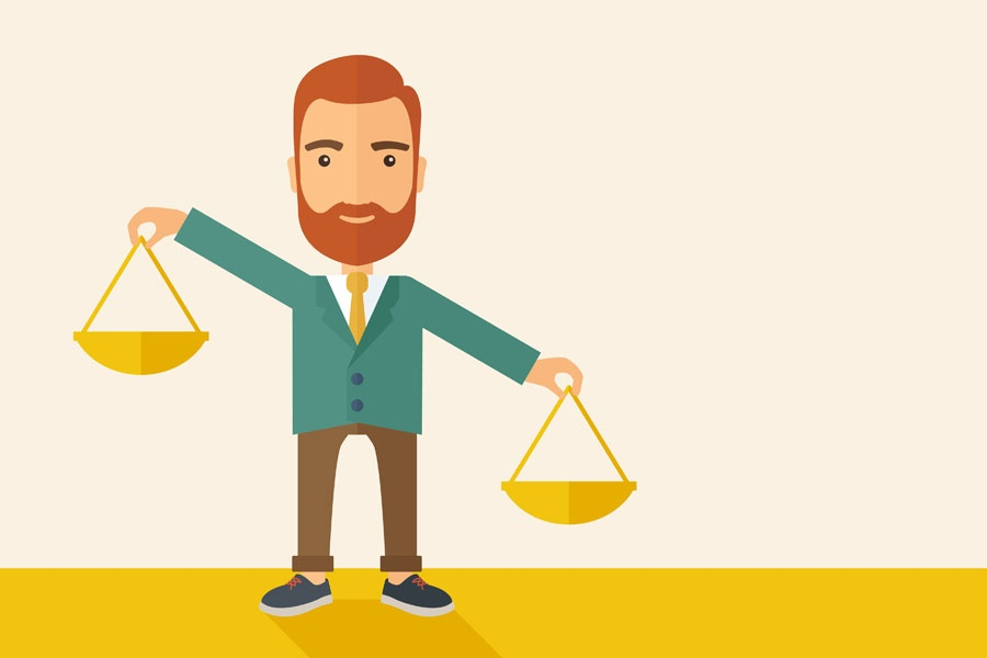 Throw out the scales to find a healthy work-life balance