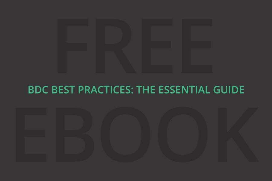 Free download: BDC Best Practices eBook