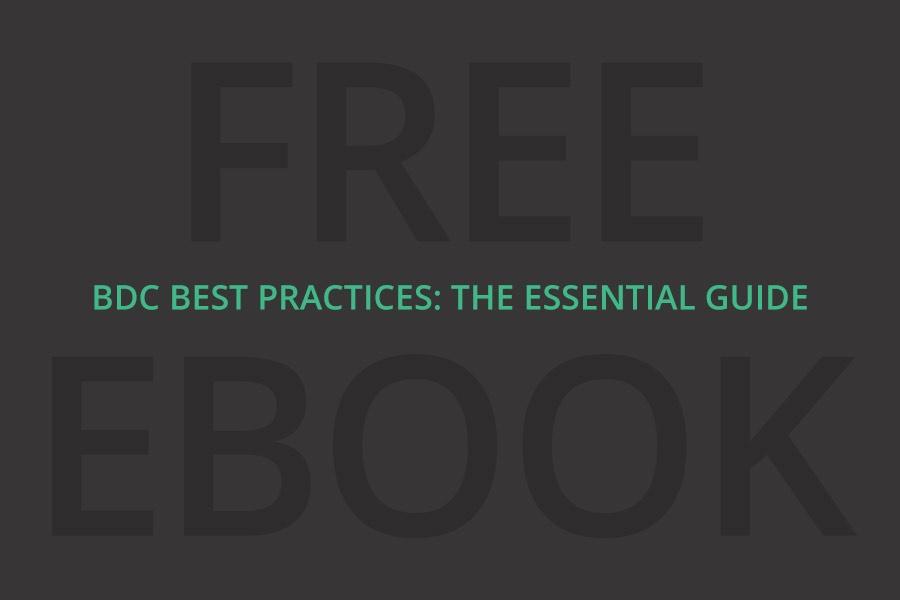 Free download: BDC Best Practices eBook