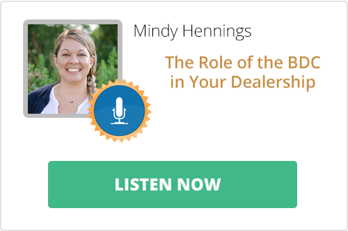 Podcast: The Role of the BDC in Your Dealership
